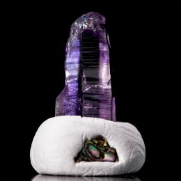 Guerrero Amethyst Lightbrary Cathedral Self Healed Quartz Point
