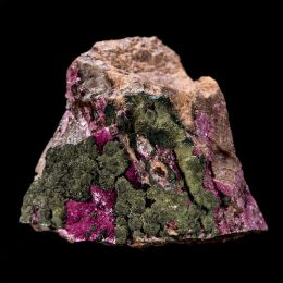 Cobaltian/ Salrose Calcite With Crystallized Malachite – Video Below!