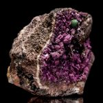 Cobaltian/ Salrose Calcite With Crystallized Malachite - Video Below!