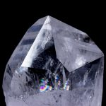 Colombian Silver Light - Time Link to the Past Rainbow Quartz Crystal - Video Below
